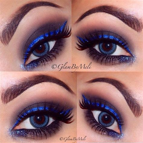 Eyeliner Nyx nyx cosmetics electric blue liquid liner