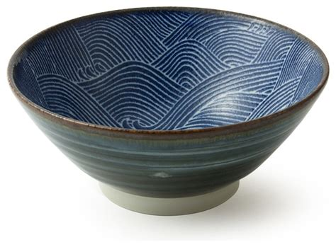 Kitchen Furniture Company by Aranami Noodle Bowl Blue 7 Quot Asian Dining Bowls By
