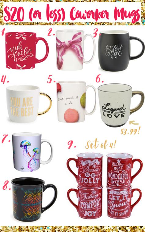 Gifts To Give Coworkers For - mug gifts for coworkers 20 frugal beautiful