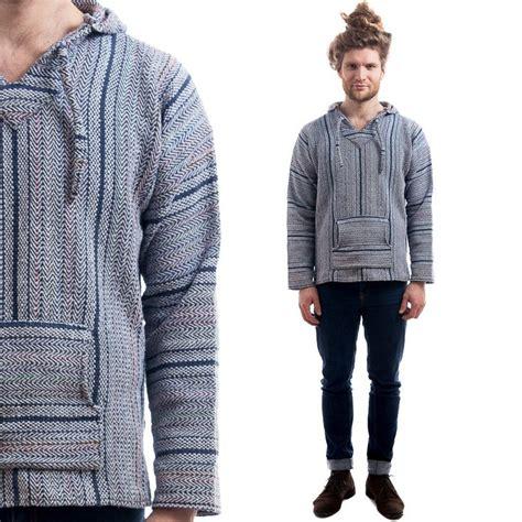 Premium Sweater Hoodie Jaket New Xavier Cloth Best Quality vintage baja hoodie 80s s aztec jacket thick woven