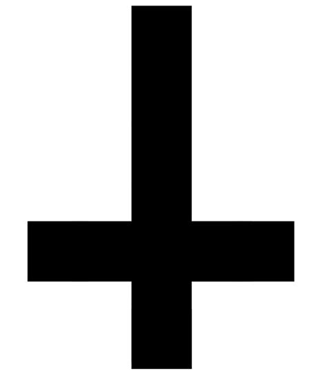 inverted cross tattoo the inverted cross simon a 12 disciple