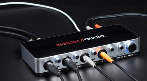 Resident Audio T4 resident audio t4 thunderbolt audio interface