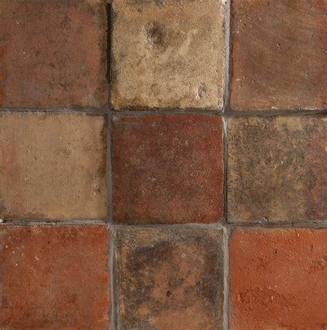 Handmade Floor Tiles - handmade terracotta square floor tile