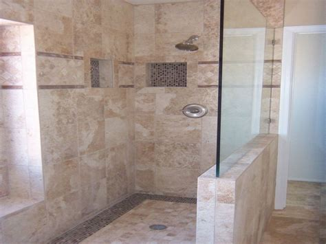Ensuite Bathroom Ideas bathroom doorless shower ideas suspended rain shower head