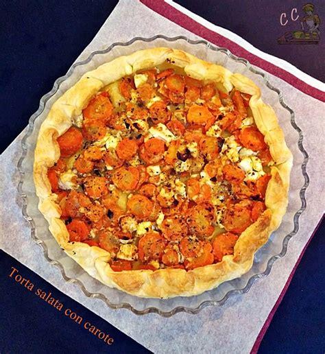 cucina casareccia torta salata con carote ricetta cucina casareccia