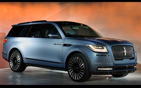 2018 lincoln navigator concept redesign release date
