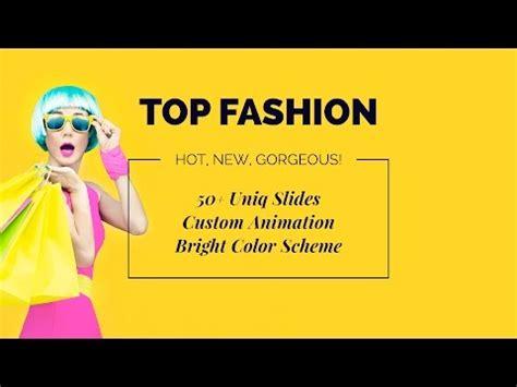 fashion powerpoint templates lajmi info