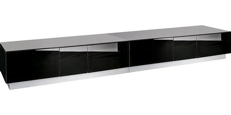 banc tv bas meuble tv bas et meuble tele en verre transparent