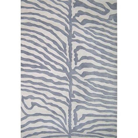Grey Zebra Rug alliyah handmade grey new zealand blend wool rug 8 x 10