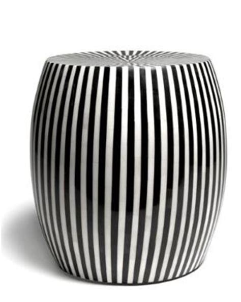 black and white ceramic garden stool 17 best images about prison stripes on
