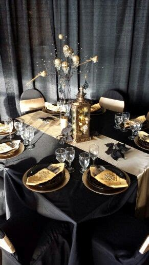 black and white christmas table decorations 110 best images about black gold theme on black gold new year s cupcakes and