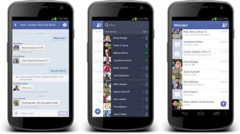 chat app for android updates its android apps with improved chat functions gizmodo australia