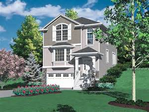 Hillside Home Plans Hillside Garage Plans