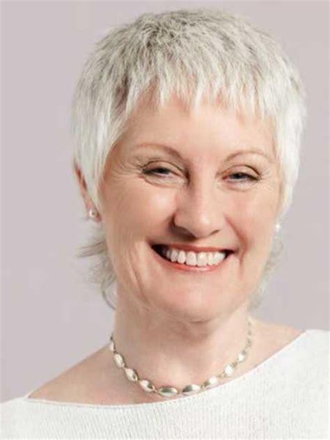 short hair with bangs for mature women 25 short hairstyles for older women short hairstyles