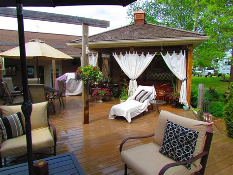gazebo curtain ideas my backyard gazebo with curtains outdoor decor