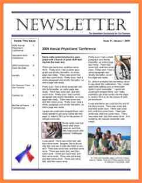 1 hoa newsletter templates newsletter template