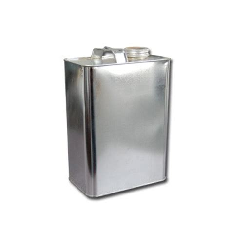 1 gallon metal 1 gallon f style metal oblong can by asc inc