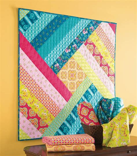Easy Patchwork Projects - 25 best ideas about small quilt projects on