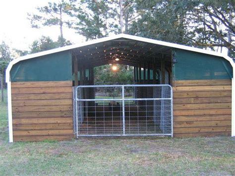 Small Farm Home Business Ideas Turn A Carport Into A Barn