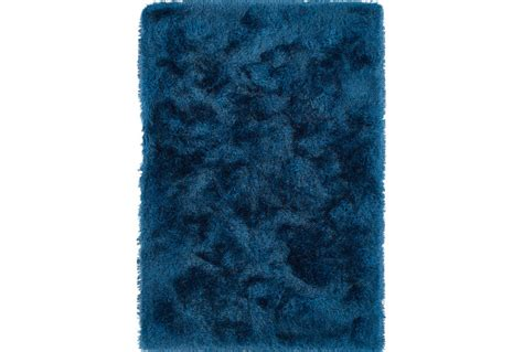 navy shag rug 96x120 rug lustre shag navy living spaces