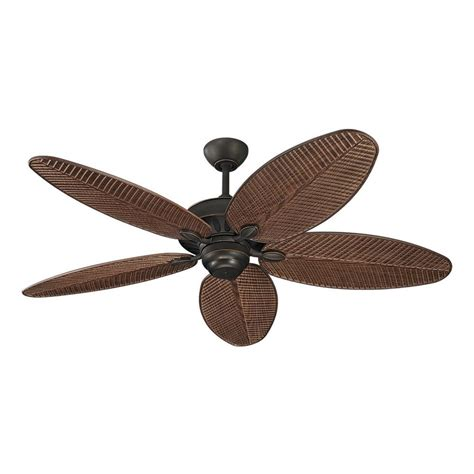 ceiling fan without light in roman bronze finish 5cu52rb