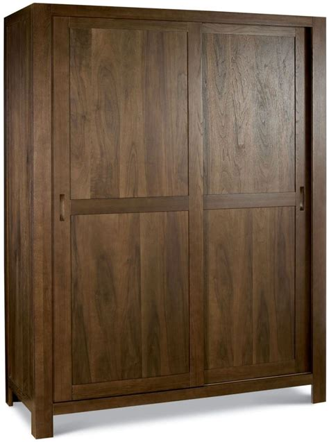 Bedroom Wardrobes Freestanding Buy Bentley Designs Lyon Walnut Sliding Wardrobe