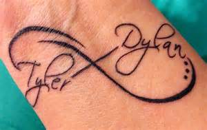 Infinity Sign With Names Infinity Tattoos With Names And Quotes Quotesgram