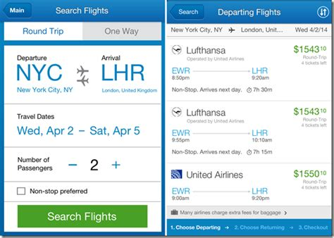5 free flight booking apps for iphone