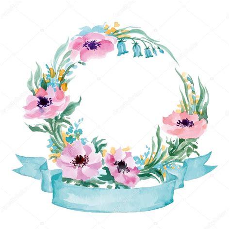 cornice floreale cornice floreale una ghirlanda di fiori selvatici dell