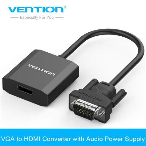entrada vga a hdmi aliexpress buy vention vga to hdmi converter cable