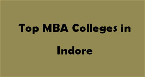 Mba In It Colleges In Indore by Top Mba Colleges In Indore 2015 2016 Exacthub