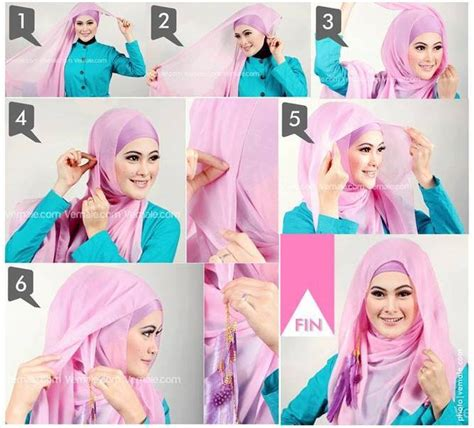 video tutorial hijab wisuda modern tutorial hijab segi empat hairstylegalleries com