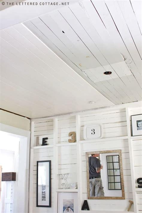 ceiling planks home depot plank ceiling cottage decorating furniture