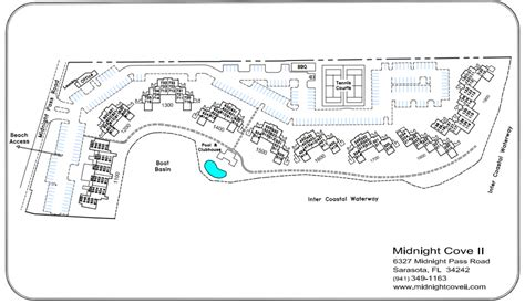 Sample Floor Plans Community Map Midnight Cove