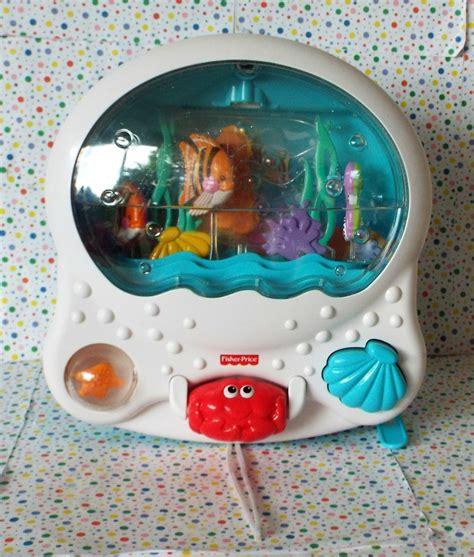 Baby Aquarium For Crib 12 13 Sold Fisher Price Wonders Musical Aquarium Crib Soother Attachment