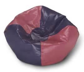 Bean Bag Chair Pink Purple Paneled Bean Bag Chair