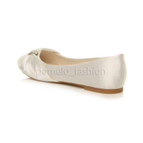 bridesmaid shoes flat womens flat evening bridesmaid bridal wedding dolly