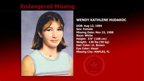 missing persons unsolved cases cold case file missing person wendy hudakoc youtube
