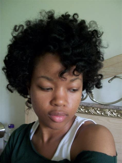 how to tight american hair short tight curly hairstyles
