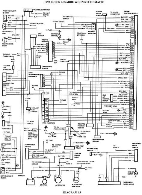 2001 Buick Century Wiring Diagram in 2020 | Buick century