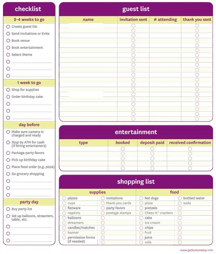party planning templates 16 free word pdf documents download