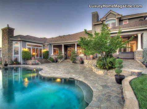 luxury home magazine sacramento luxury homes pools