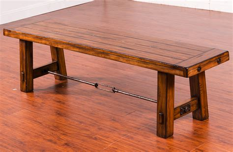 wooden dining bench seat dining bench with wood seat and metal turnbuckle stretcher