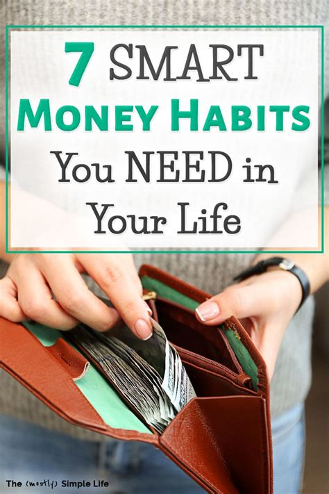 good money habits   transform  finances