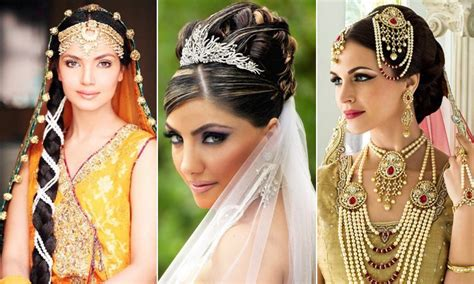 Hairstyles For Medium Hair For Indian Wedding by 60 Traditional Indian Bridal Hairstyles For Your Wedding
