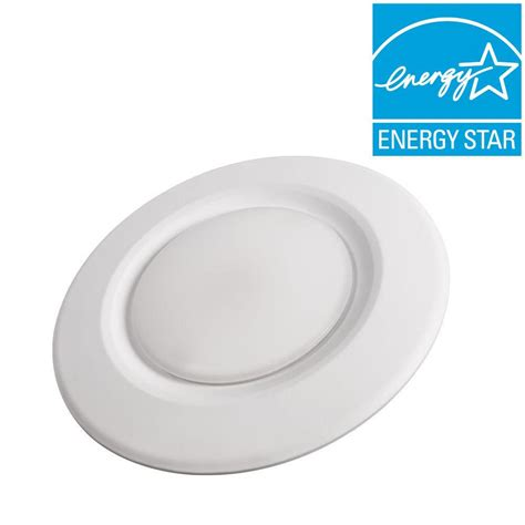 Led Light Bulbs For Can Lights Commercial Electric 4 In Soft White Recessed Led Can Disk Light Ce Jb4 600l 27k E26 2 The