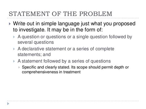 exle of problem statement in thesis statement of the problem dissertation reportz725 web fc2