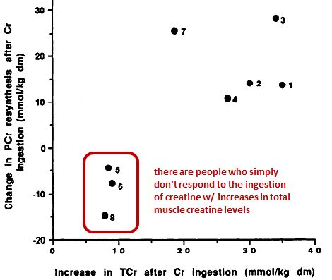 creatine non responder your consumption is probably not the reason you re a
