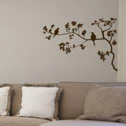Wall Stickers Branches Two Birds Tree Branch Wall Decals Vinyl Sticker