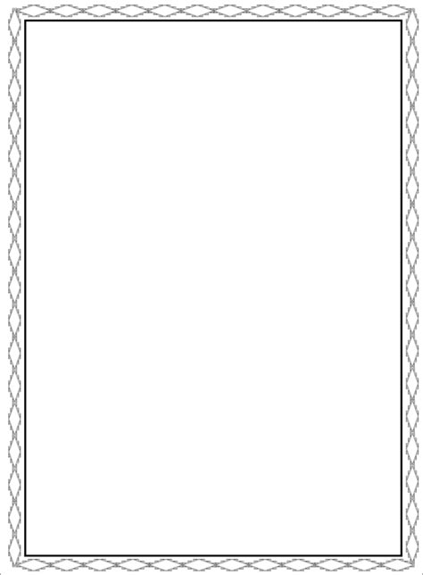 free border printable programs for free for all occasions just b cause